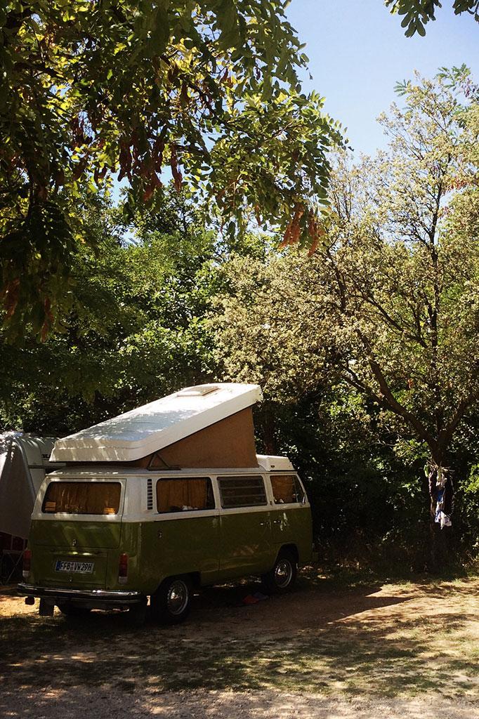 Emplacement Camping Car Bédoin