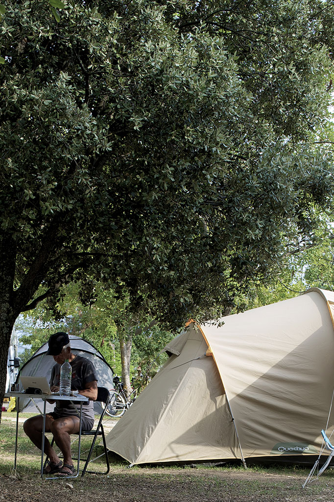 Emplacement Tente Camping Provence