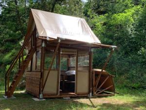 Extérieur Lodge 2 personnes